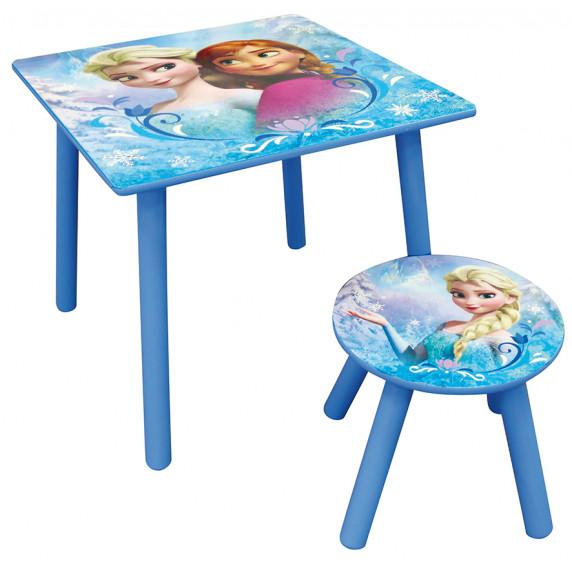 Detský stôl so stoličkou Frozen FUN HOUSE 712392