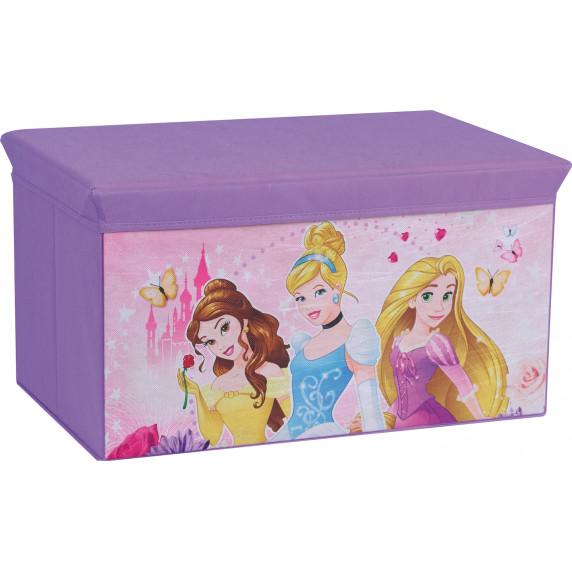 Detská látková truhla na hračky Princezné FUN HOUSE 712441