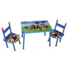 FUN HOUSE Detský stôl so stoličkami Tlapková patrola 712535 Preview