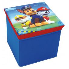 Detská taburetka s úložným priestorom Tlapková Patrola FUN HOUSE 712538 Preview