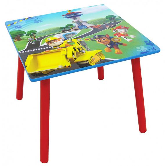 Detský stôl so stoličkou Tlapková patrola FUN HOUSE 712593