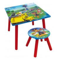 FUN HOUSE Detský stôl so stoličkou Tlapková patrola 712593