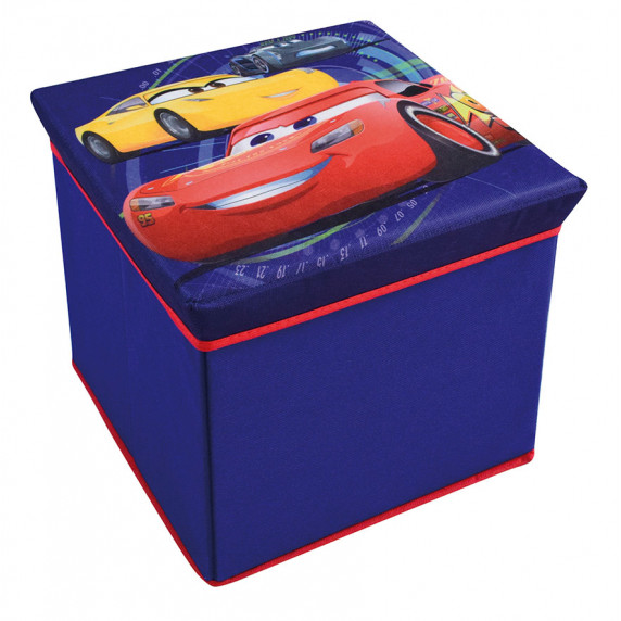 Detská taburetka s úložným priestorom Cars FUN HOUSE 712768