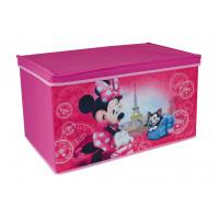 Detská látková truhla na hračky Minnie Mouse FUN HOUSE 712867