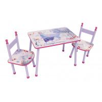FUN HOUSE Detský stôl so stoličkami Frozen - Ľadové Kráľovstvo 2 713187