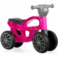 CHICOS Detské odrážadlo motorka - ružové Preview
