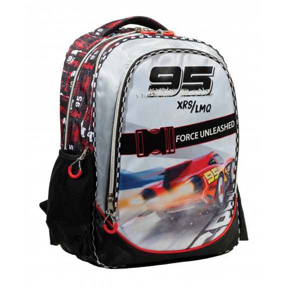 G.I.M. školský set CARS 2020 - školská taška + peračník + zošit