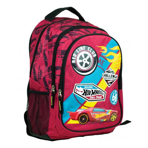 G.I.M. školský set HOT WHEELS 2020 - školská taška + peračník + šanón + zošit