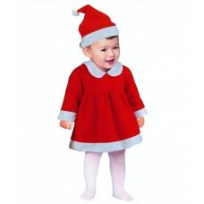 GoDan Kostým malého Santu pre dievčatká Preview