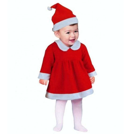 GoDan Kostým malého Santu pre dievčatká