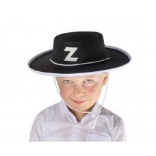 Klobúk Zorro detský - GoDan  Preview