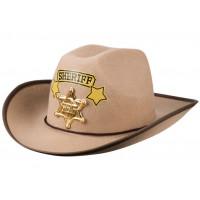 GoDan Detský klobúk Sheriff