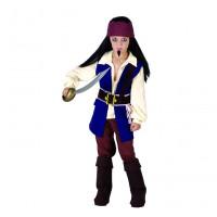 GoDan Kostým pre deti -  Pirát z Karibiku, veľkosť 120/130 cm