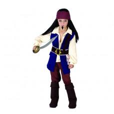 GoDan Kostým pre deti -  Pirát z Karibiku, veľkosť 130/140 cm Preview