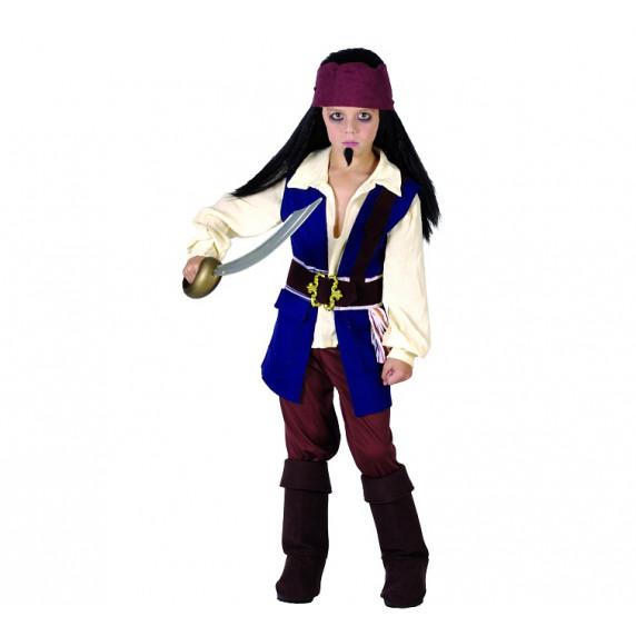 GoDan Kostým pre deti -  Pirát z Karibiku, veľkosť 110/120 cm