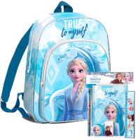 Školský set Kids Licensing Ľadové Kráľovstvo 2021 MODRÝ - batoh s príslušenstvom