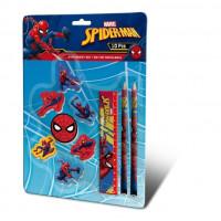 Kids Licensing Sada písacích potrieb s gumami SPIDERMAN 10 ks