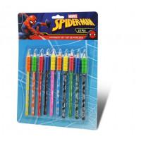 Kids Licensing Sada farebných ceruziek SPIDERMAN 10 ks