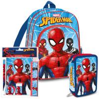 Školský set Kids Licensing SPIDERMAN 2021 - batoh, peračník s príslušenstvom