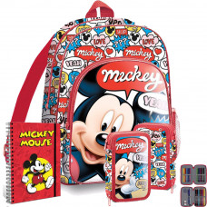 Kids Licensing školský set Mickey - batoh + peračník s príslušenstvom Preview