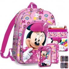 Kids Licensing školský set Minnie  - batoh + peračník s príslušenstvom + vak na telocvik Preview