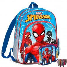 Kids Licensing školský set SPIEDRMAN - batoh + peračník s príslušenstvom -svetlo modrá Preview
