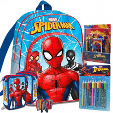 Kids Licensing školský set SPIDERMAN - svetlomodrý II Preview