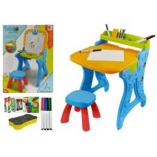 Inlea4Fun PAINTING TABLE Multifunkčný kresliaci stôl 2v1 so stoličkou Preview