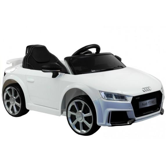 AUDI Quatro TT RS EVA 2.4G elektrické autíčko biele