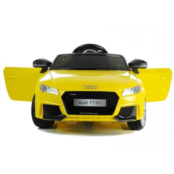 AUDI Quatro TT RS EVA 2.4G elektrické autíčko žlté 2019