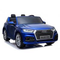 AUDI Q5 elektrické autíčko dvojmiestne modré - lakované prevedenie 2019