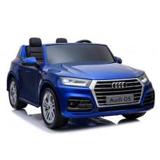 AUDI Q5 elektrické autíčko dvojmiestne modré - lakované prevedenie 2019 Preview