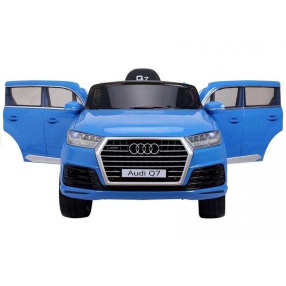 AUDI Q7 2.4G LIFT elektrické autíčko modré - lakované prevedenie 2019