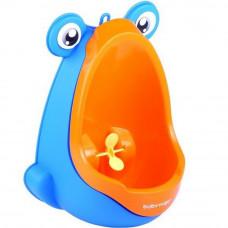 BabyYuga mini pisoár pre deti s prísavkami oranžový Preview