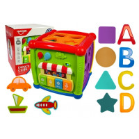 Interaktívna vzdelávacia kocka HUANGER Fancy Cube