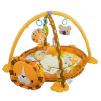Konig Kids LION ACTIVITY Hracia deka 3 v 1 - lev