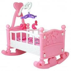 Kolíska pre bábiky BABY BED Inlea4Fun - ružová Preview