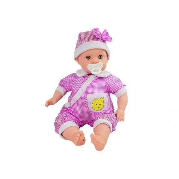 Inlea4Fun BABY KID Detská bábika-bábätko 45 cm - ružové