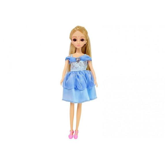 Šatníková skriňa v kufríku s bábikou a doplnkami Inlea4Fun LELIA STAR CLOSET