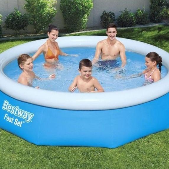 BESTWAY Fast Set samonosný rodinný bazén 305 x 76 cm 57266