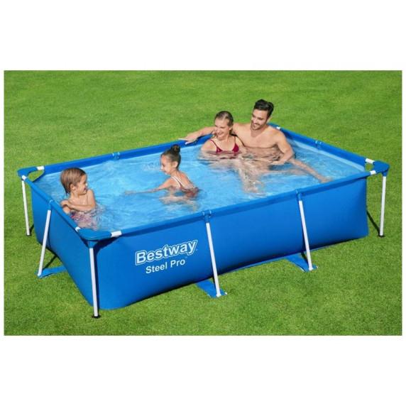 BESTWAY Steel Pro Frame rodinný bazén 259 x 170 x 61 cm 56403