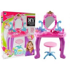 Inlea4Fun detský toaletný stolík CROWN Preview