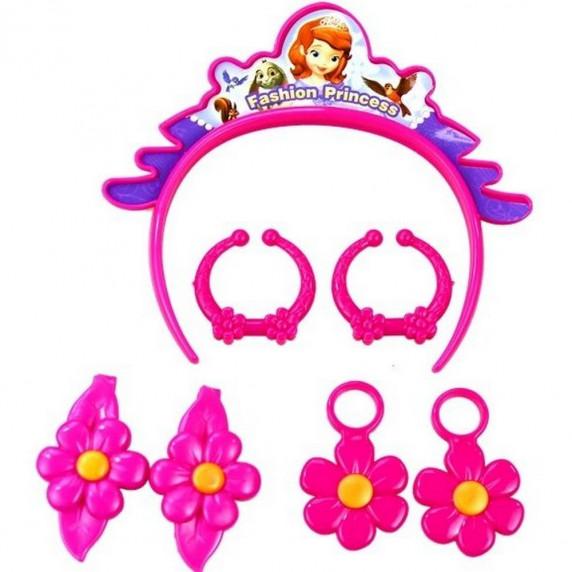 Inlea4Fun detský set pre kaderníčky Princezná Sofia