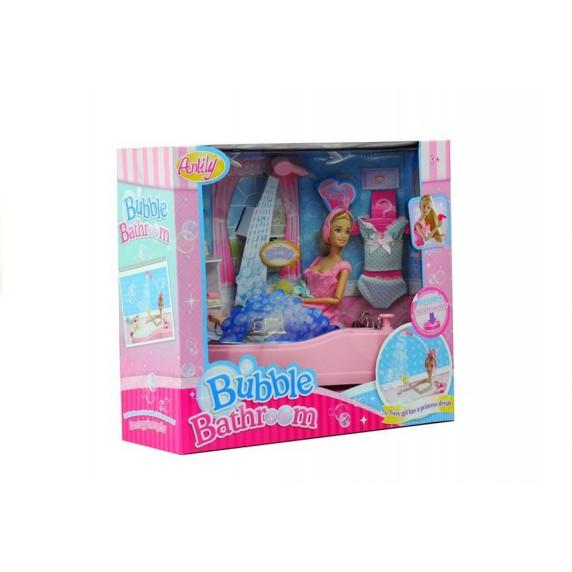 Inlea4Fun Kúpeľňa s bábikou