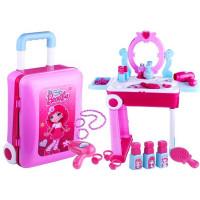 Inlea4Fun detský toaletný stolík v kufríku BEAUTY