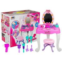 Inlea4Fun Lovely Dresser Detský toaletný stolík so stoličkou