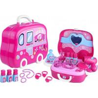 Inlea4Fun Fashion You Detský toaletný stolík v kufríku