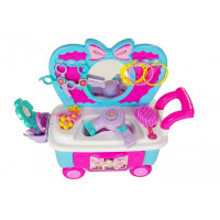 Inlea4Fun MAKEUP CART Kozmetický vozík s doplnkami