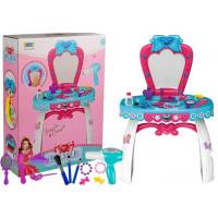 Detský toaletný stolík Inlea4Fun BEAUTY DRESSER BOW