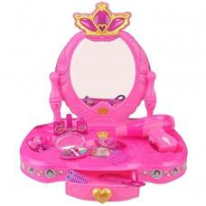 Inlea4Fun Detský toaletný stolík s korunkou Preview
